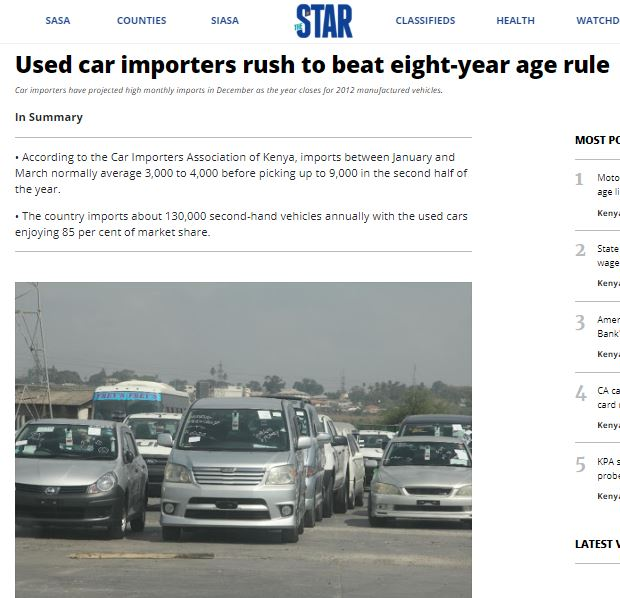 Capture 1 - News on imports