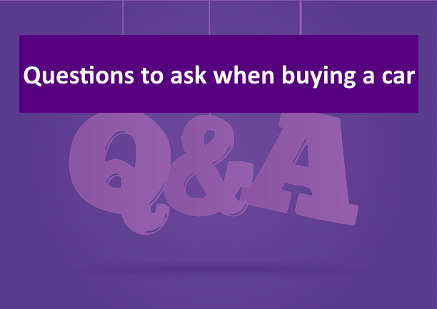 444444 - Questions to ask when buying a new car