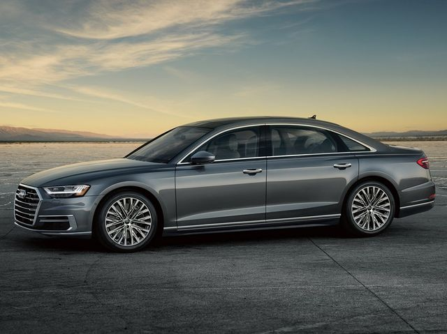 Audi A8 - Top selling executive sedans and saloons