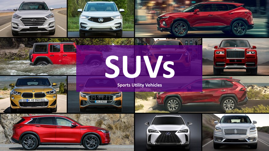 SUVs2 - Top Selling SUVs
