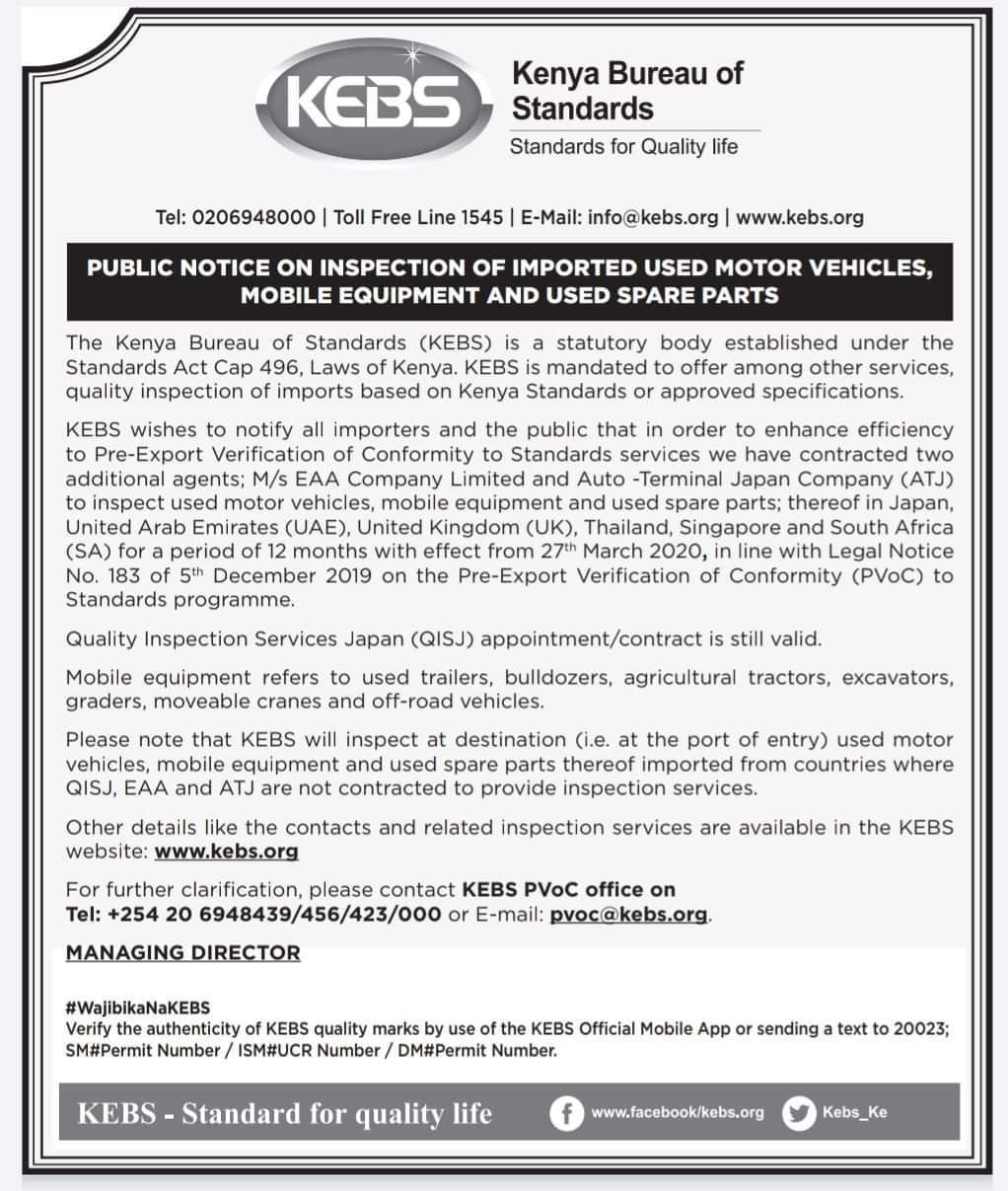 image 2020 03 31T09 13 26 122Z - NTSA and KEBS adjust to COVID-19 pandemic